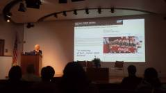 """Marion Nestle from NYU gave a great opening keynote on """"Global Nutrition: From Science to Politics."""""""