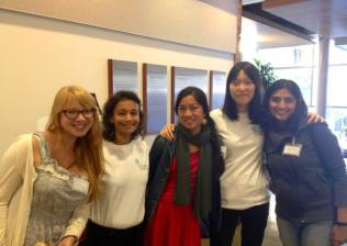 Some of the students who attended the UC Berkeley Global Public Health Symposium.