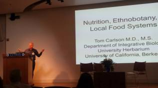 "Dr. Tom Carlson from Integrative Biology - UC Berkeley discusses the importance of ""Nutrition, Ethnobiology, and Global Food Systems."""