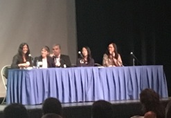 Dr. Laraia on a panel about how psychological stress can shift food preferences, fat storage, and worsen metabolic health